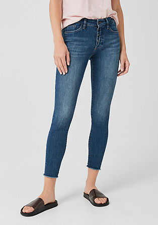 Shape Ankle: Stretchige 7/8-Jeans