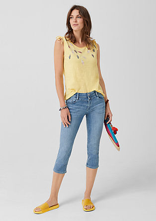 Shape Capri: Stretch jeans from s.Oliver