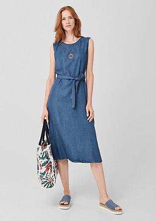 Lyocell denim dress from s.Oliver