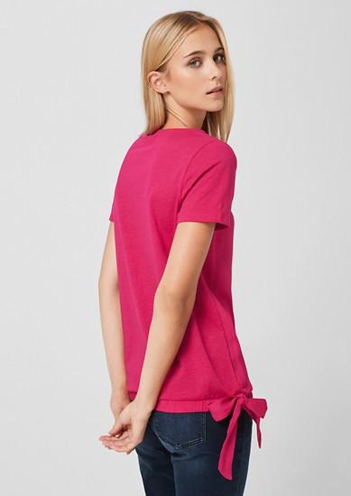 Bluzna majica z detajli pentlje