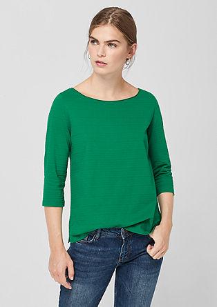 Tričko sažurovým vzorem