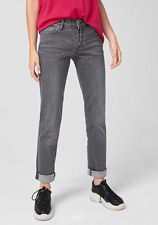 Shape Slim: jeans with buttons from s.Oliver