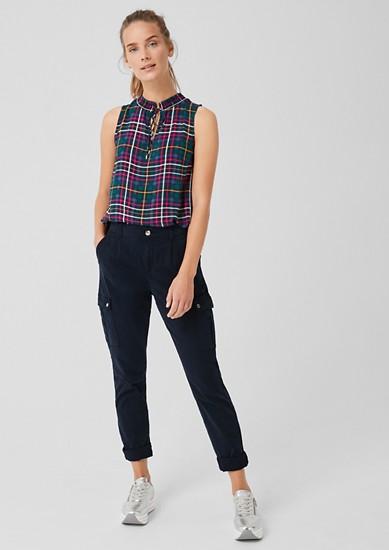 Smart Chino: Pantalon en twill style cargo de s.Oliver