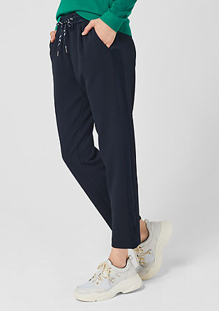 Fine textured tracksuit bottoms from s.Oliver