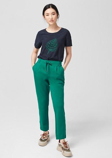 Smart Chino: pantalon de jogging de longueur 7/8 de s.Oliver