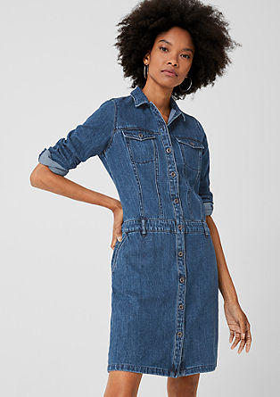 Sporty denim dress from s.Oliver