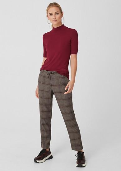 Smart Chino: glenčekové froté kalhoty