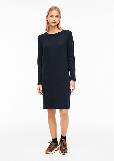 Knit dress made of a soft wool blend from s.Oliver