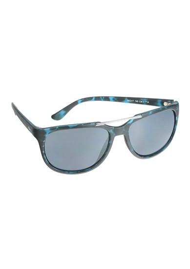 Sonnenbrille mit Farbakzenten