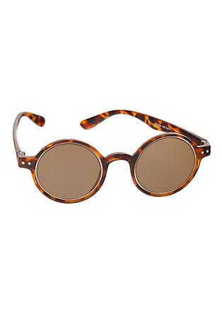 Sonnenbrille im Two-Tone-Look