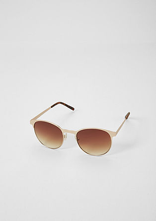 Modische Panto Sonnenbrille