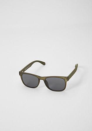Matte Wayfarer zonnebril