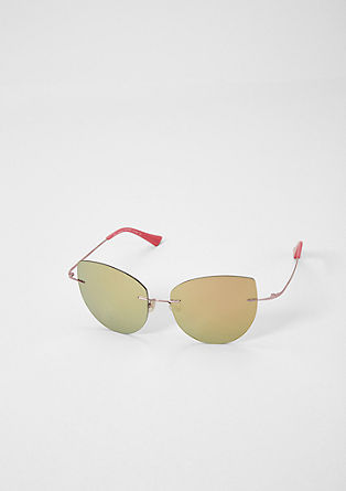 Randlose Cat Eye-Sonnenbrille