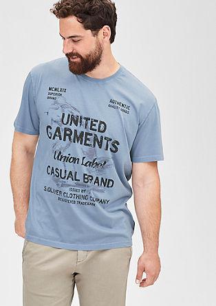 Besticktes Printshirt
