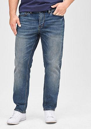 Scube relaxed: jeans met een riem