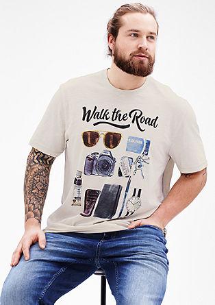 T-shirt met illustraties