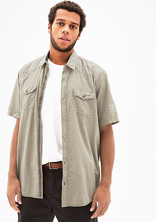 Regular: casual patterned shirt from s.Oliver