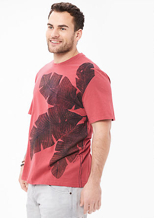 T-shirt with a summery motif from s.Oliver