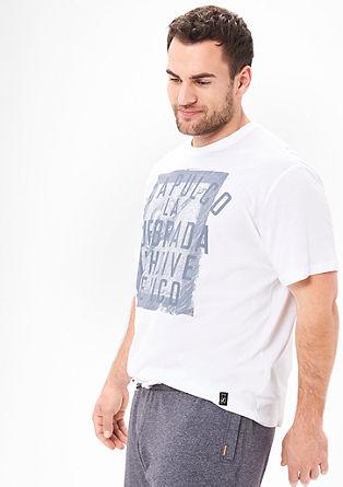 Shirt mit Fotoprint und Wording