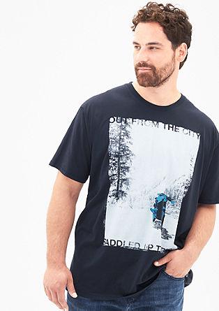 Majica kratek rokav z natisnjeno fotografijo
