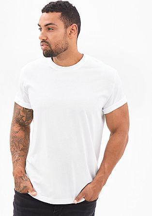 T-Shirt mit Crew Neck