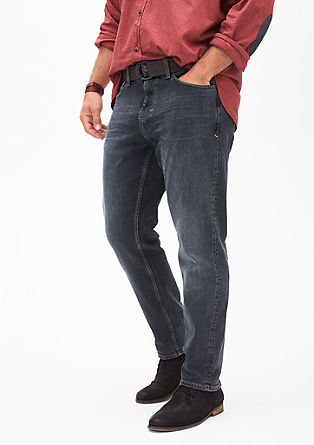 Scube Relaxed: Stretch jeans with a belt from s.Oliver