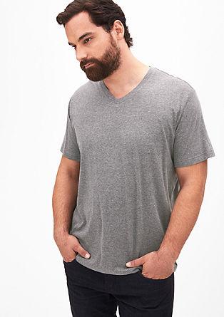 Klassisches V-Neck-Shirt