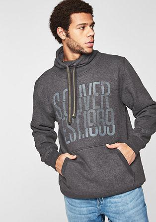 Sweatshirt met een turtleneck