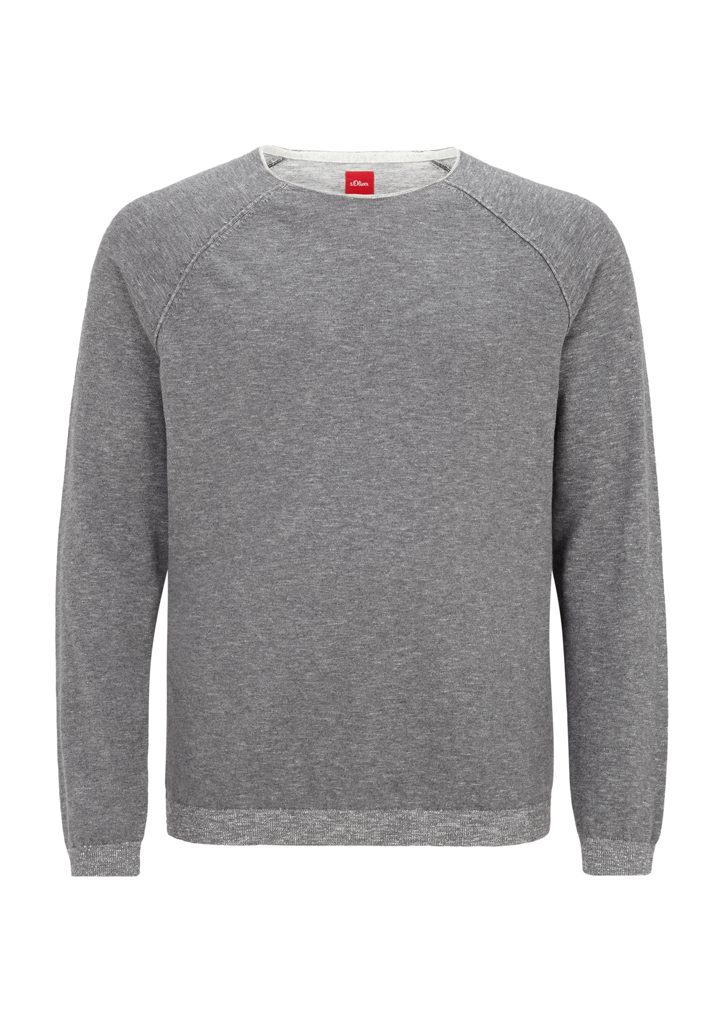 Pullover   Bekleidung > Pullover > Sonstige Pullover   Grau/schwarz   100% baumwolle   s.Oliver Men Big Sizes