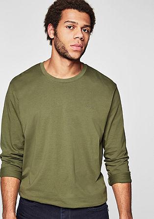 Majica dolg rokav iz bombaža