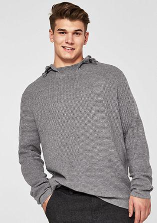 Gebreide hoodie