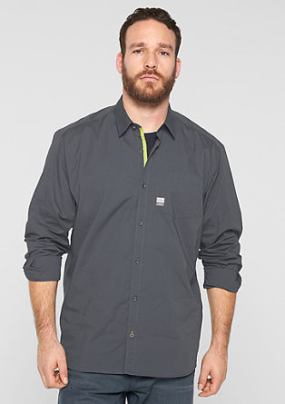 Regular: Glattes Stretch-Hemd