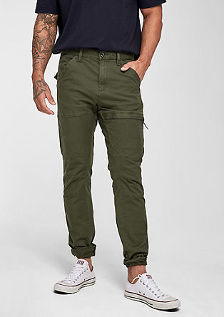 Scube Relaxed: casual twill trousers from s.Oliver
