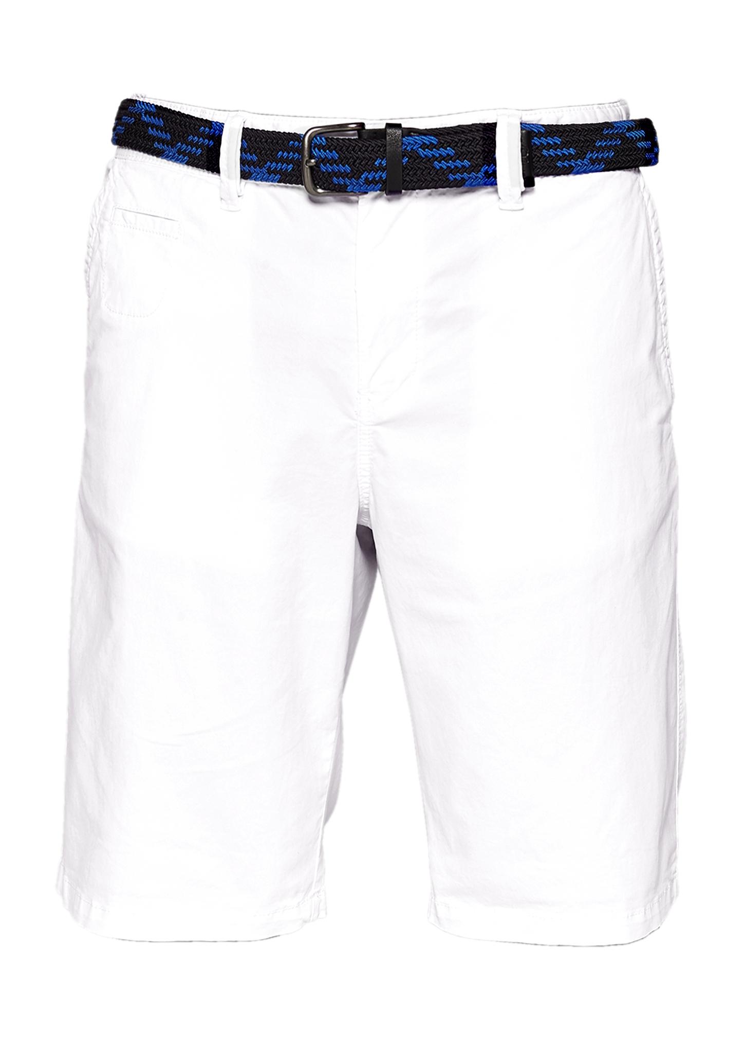 Bermudashorts   Bekleidung > Shorts & Bermudas > Bermudas   Weiß   Oberstoff: 98% baumwolle -  2% elasthan  futter: 100% baumwolle   s.Oliver Men Big Sizes