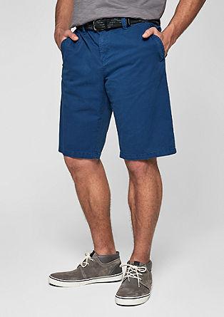 File loose: garment-dyed chinoshort