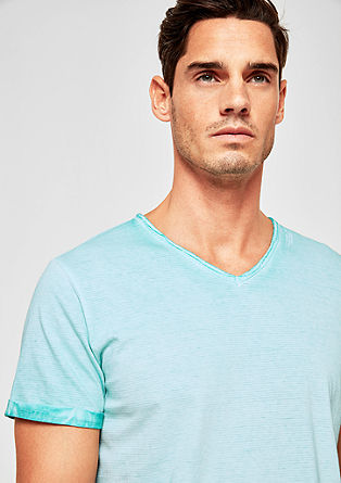 Tall Size: Casual V-neck T-shirt from s.Oliver