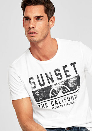 Tall Size: jersey T-shirt with a print from s.Oliver