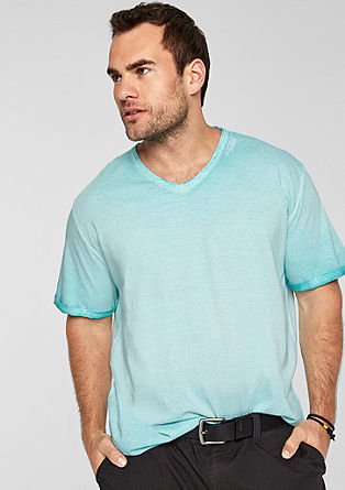 Casual T-shirt with a washed finish from s.Oliver