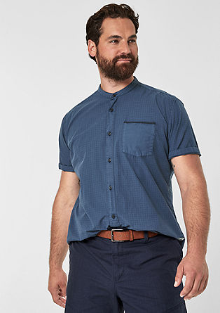 Regular: Garment-dyed shirt from s.Oliver