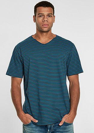 T-shirt en jersey à rayures de s.Oliver