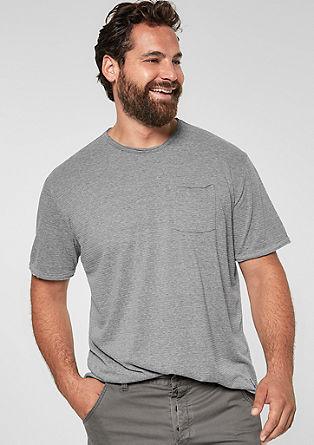 T-shirt à motif structuré de s.Oliver