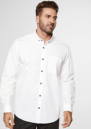 Regular: Stretchiges Button Down-Hemd