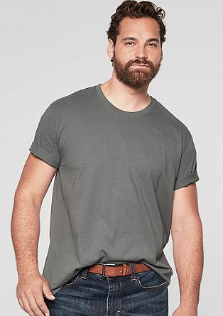 Majica z okroglim izrezom