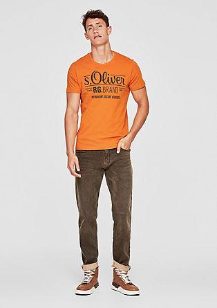 Tall Size: t-shirt signature de s.Oliver