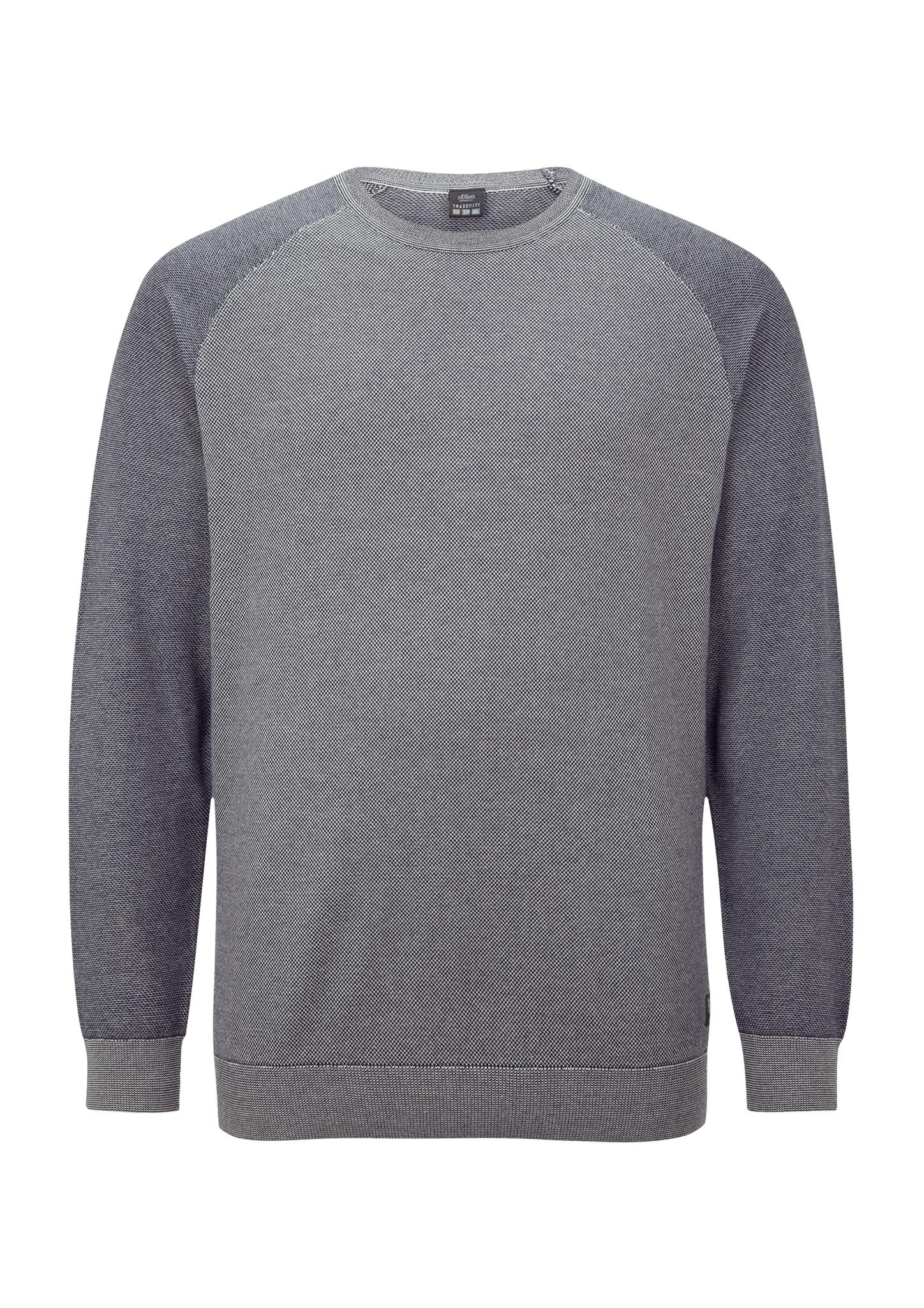 Pullover | Bekleidung > Pullover > Sonstige Pullover | Blau | 100% baumwolle | s.Oliver Men Big Sizes