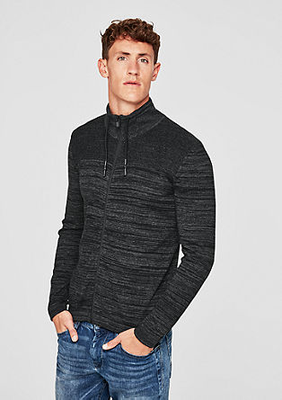 Tall Size: pletený kabátek smelírovaným efektem