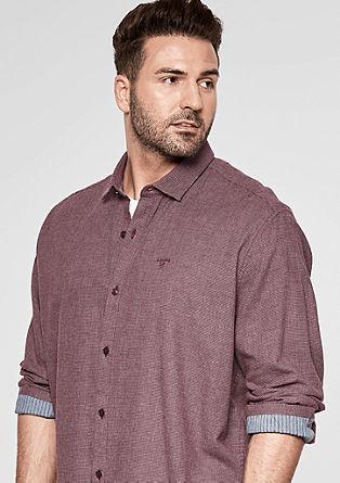 Regular: košile zlehkého kepru