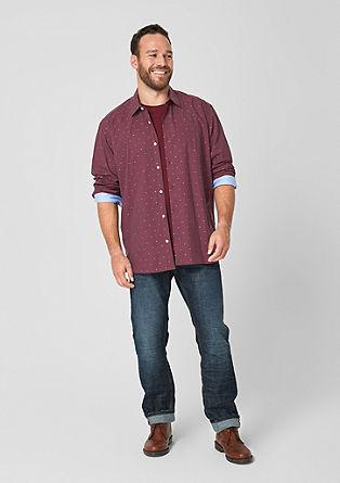 Regular: Košile s tkaným vzorem