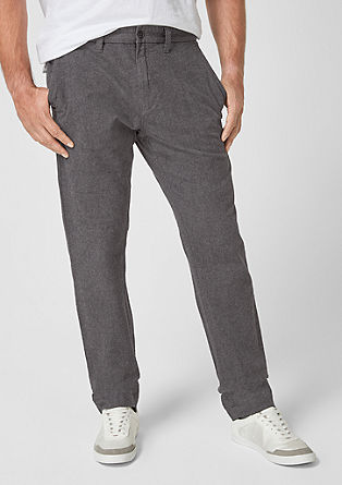 Scube Relaxed: herringbone chinos from s.Oliver