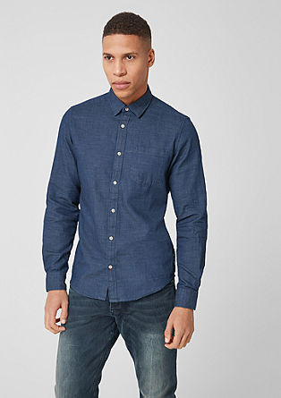 Tall Size: Hemd in Jeans-Optik